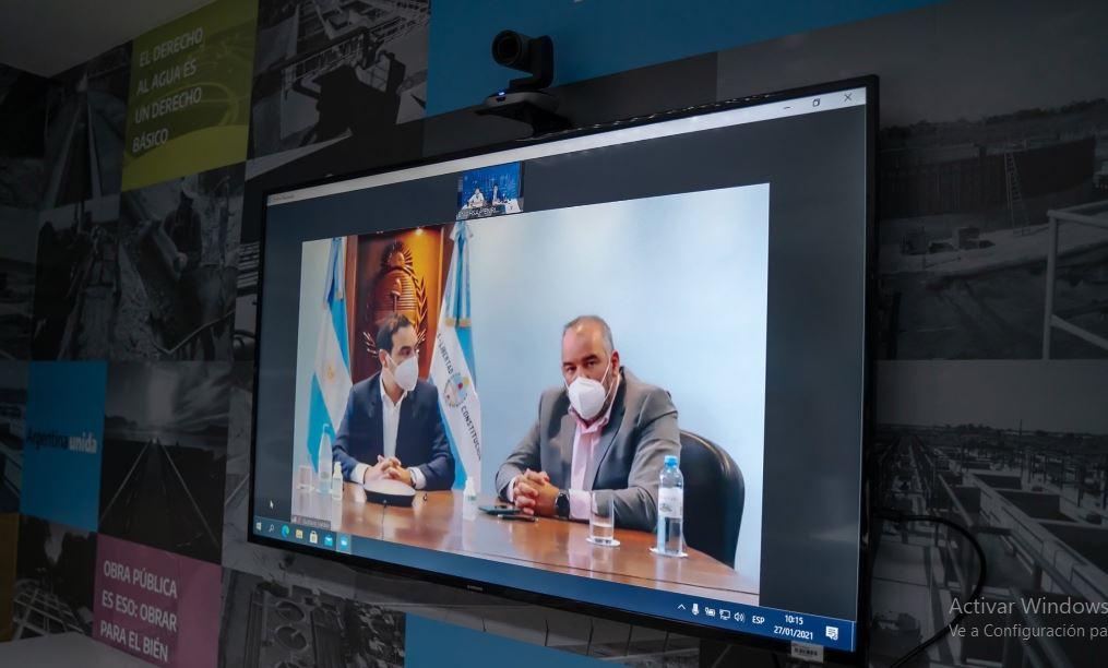 Firma entre los Gobiernos de Corrientes y de la Nación